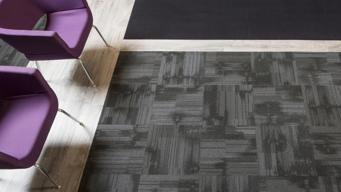 Tessera Cut & Loop pile tiles