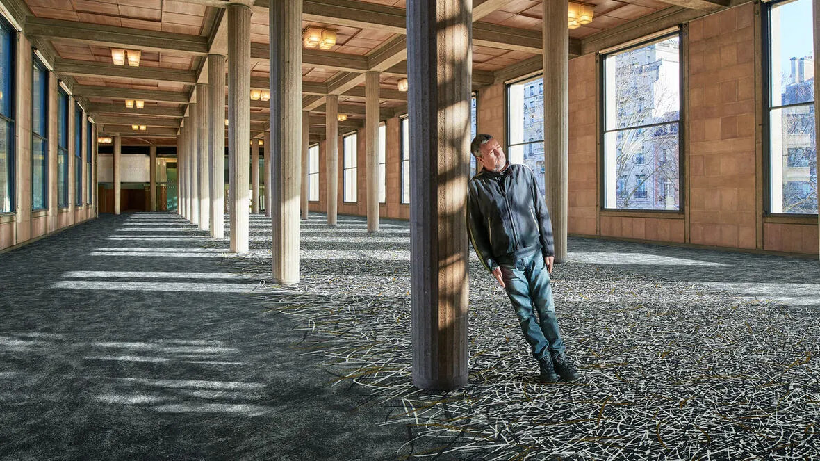 Flotex flocked flooring - Philippe Starck