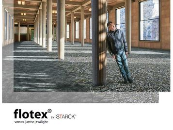 Flotex by STARCK - flocked flooring brochure
