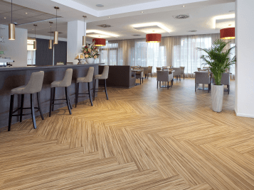 OZO Hotel - Marmoleum Flooring for Hotel