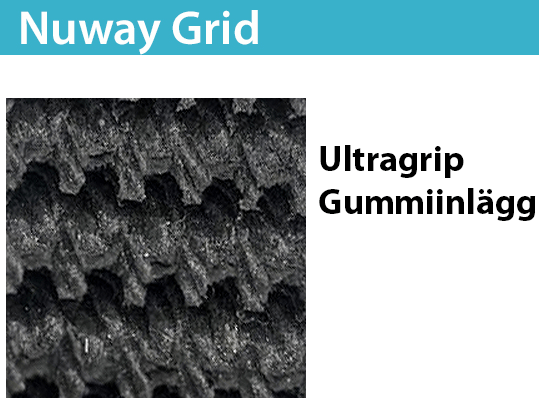 Nuway Grid Ultragrip Gummiinlägg