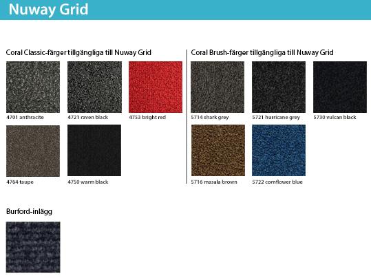 Nuway Grid ytmaterial interiör