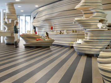 Allura Flex 0.55 sustainable vinyl tiles