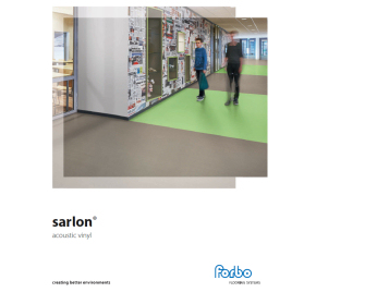 Sarlon brochure cover