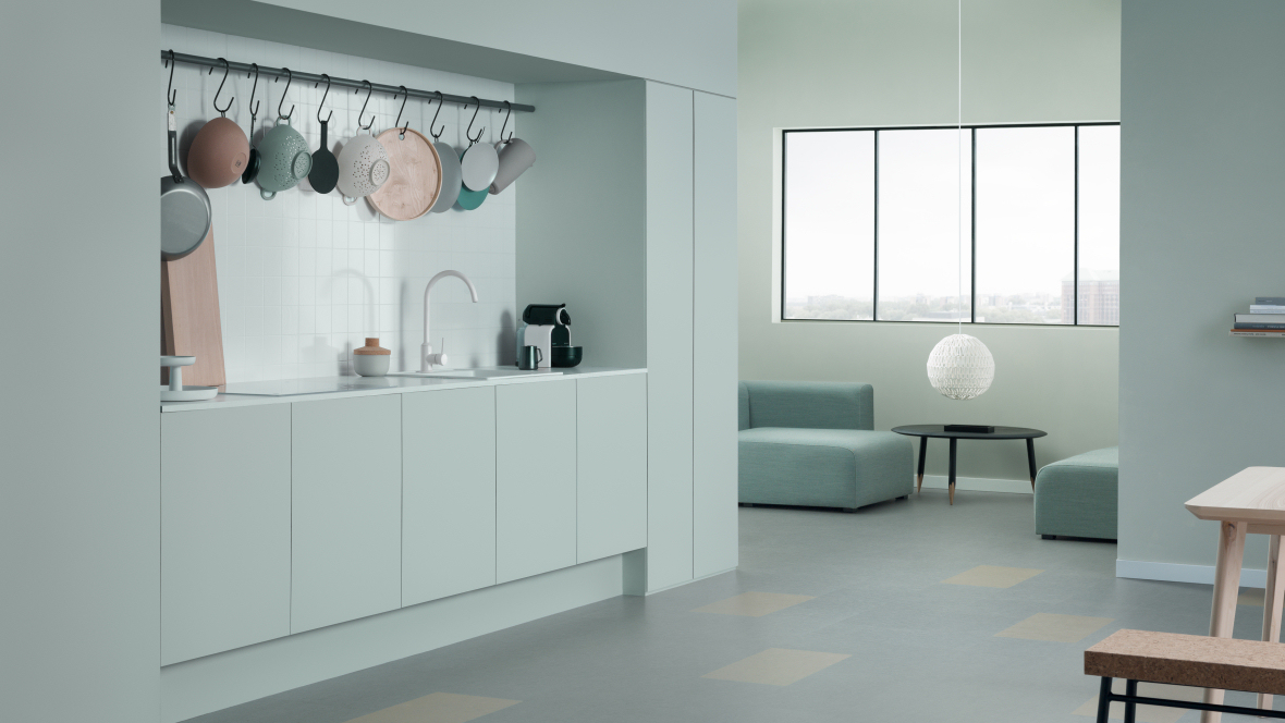 마모륨 클릭 타일(Marmoleum Click tiles)