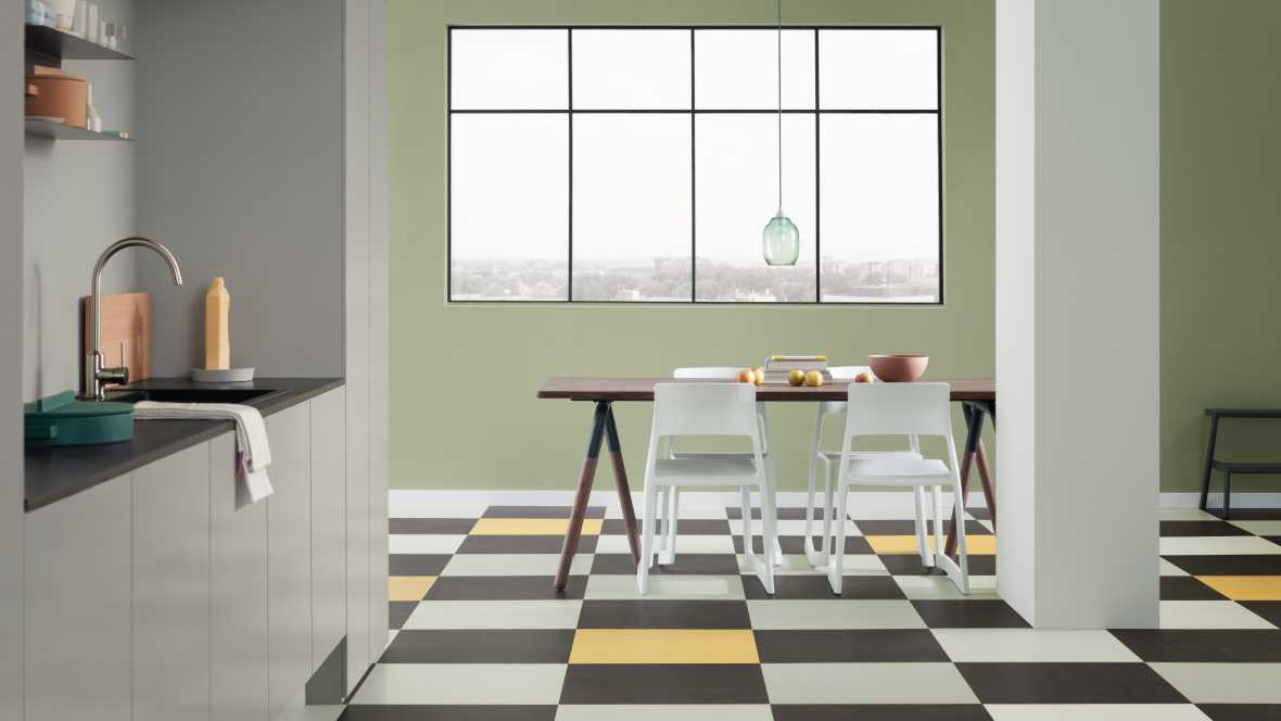 Marmoleum Click tiles