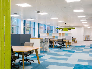 Commercial Office Interiors - Tessera Carpet Tiles