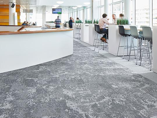 Tessera Cloudscape Carpet Tiles - Commercial Office Interior