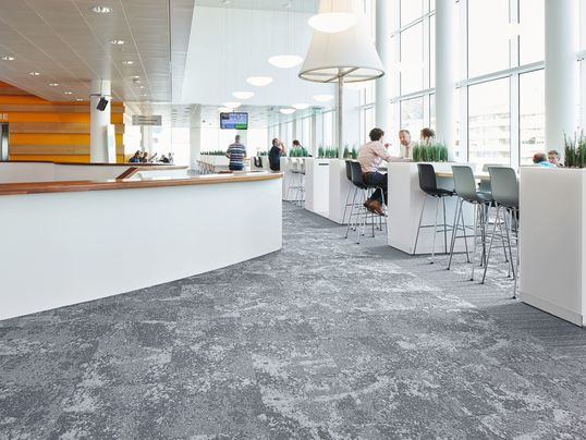 Tessera Cloudscape Carpet Tiles - Commercial Office Interior