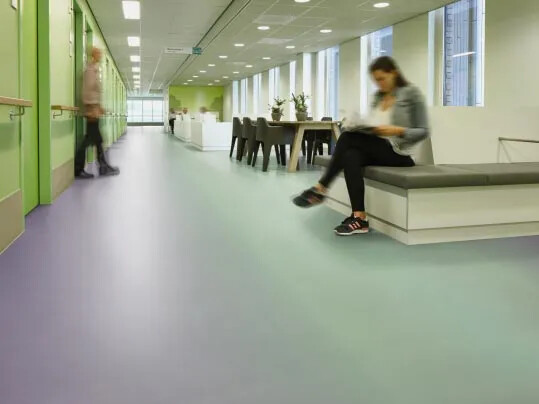 Eternal vinyl sheet flooring for schools