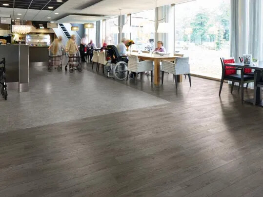 Eternal vinyl sheet flooring