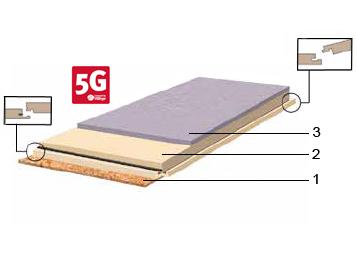 Wasserfeste Fußbodenplatten ~ Marmoleum click linoleum in planken und fliesen forbo flooring systems