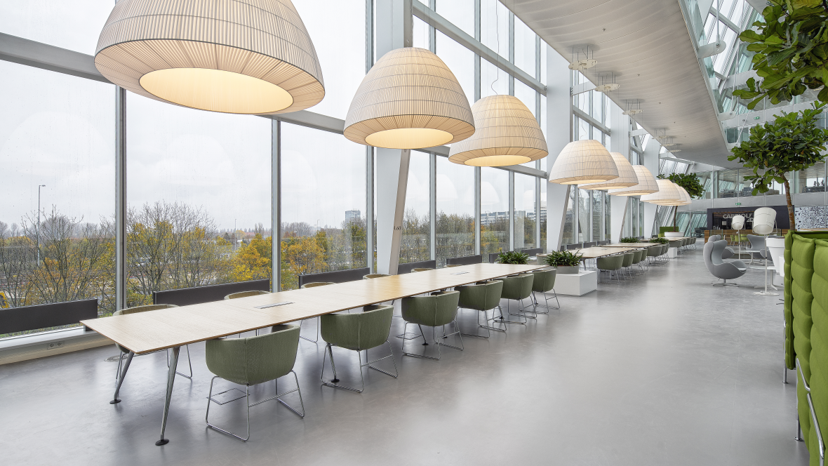 Deloitte The Edge - Marmoleum flooring