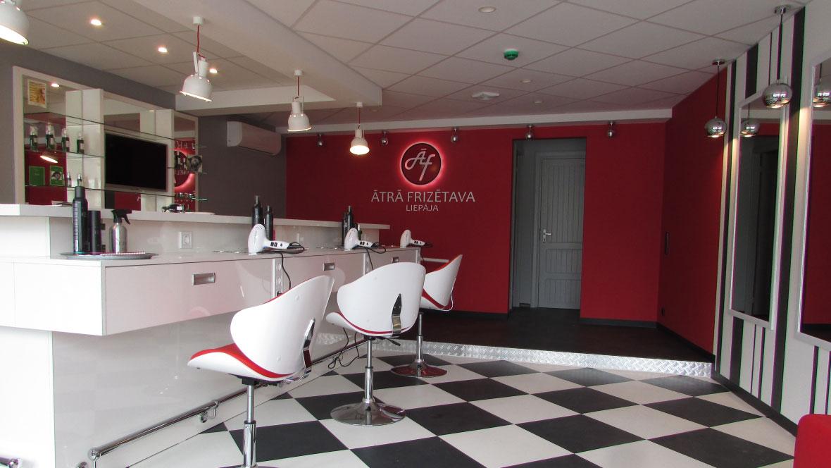 Hairdresser, Liepājā