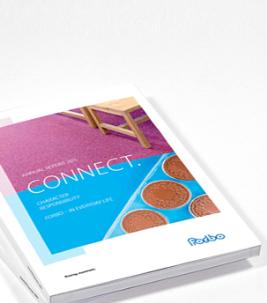 Frontseite Forbo Geschäftsbericht 2015.