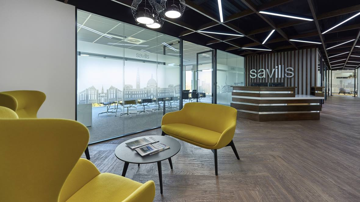 Savills Office - Allura Flex LVT flooring