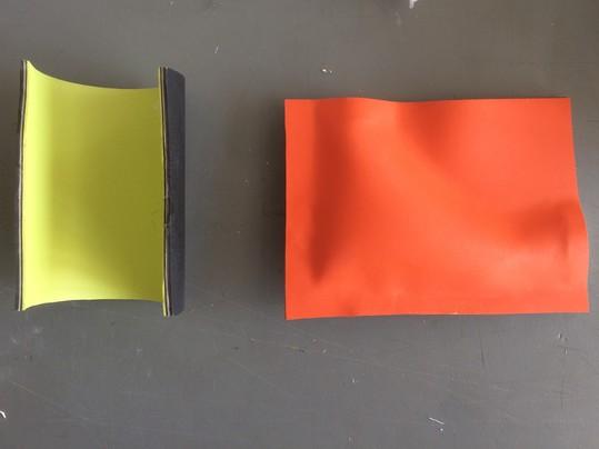 Materialexperiment | Foto: Chikako Harada