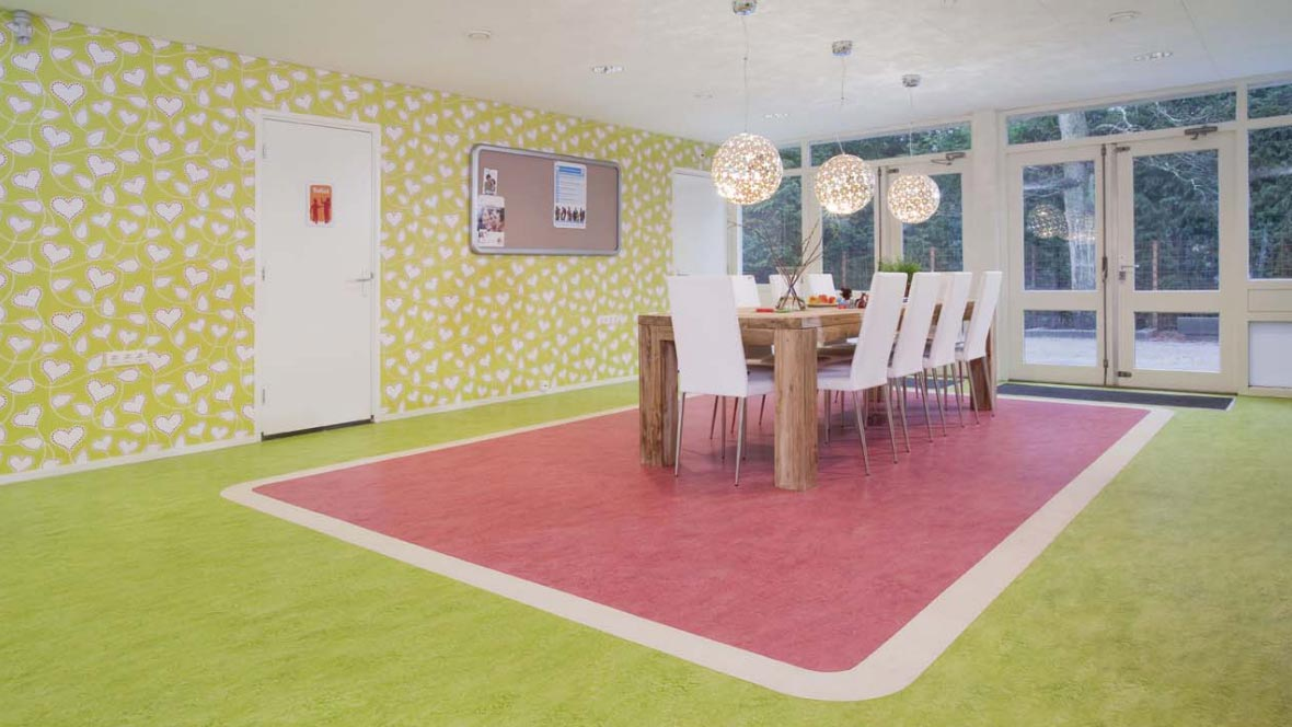 Marmoleum marbled forbo flooring systems