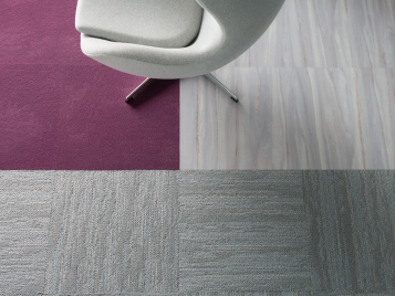 Synergy office flooring