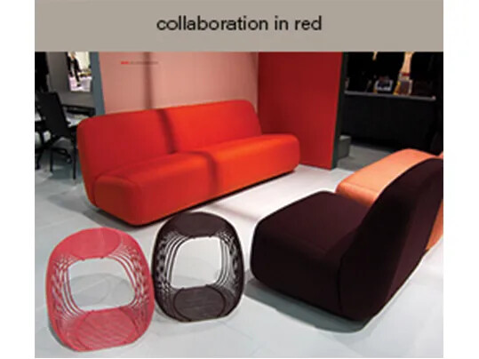 collaboration in red - Lammhults