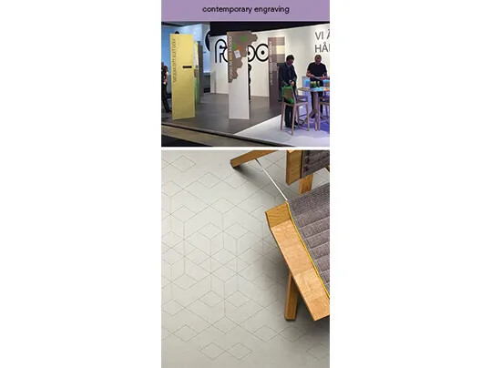 contemporary engraving - Forbo Flooring