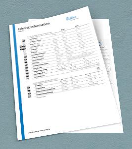 Teknisk information – ett av de olika typer av dokument som finns i vår dokumentbank.