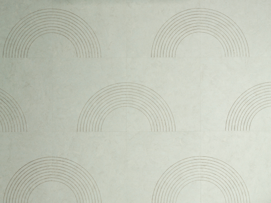 Marmoleum Signature  Circle half