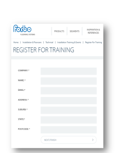 register for training 2