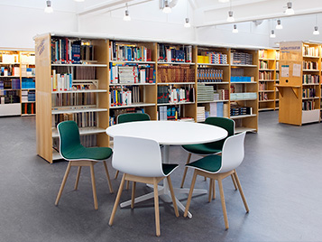Preferred health and education flooring - Library
