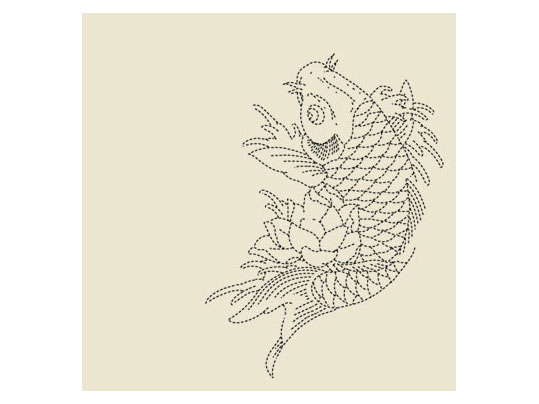Signature Tattoo Koi