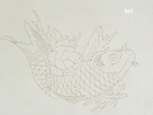Marmoleum Signature Tattoo Koi