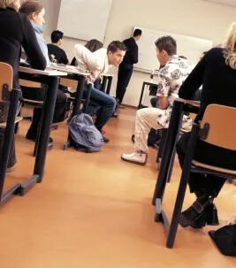 Onderwijs klaslokaal