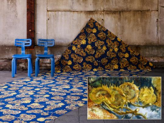 Flotex-Van-Gogh-051-SunflowersB