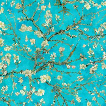 Flotex van Gogh almond blossom