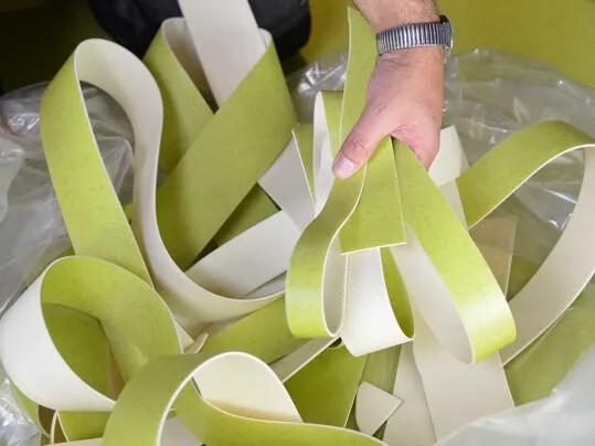 Forbo et le recyclage des revêtements de sol PVC