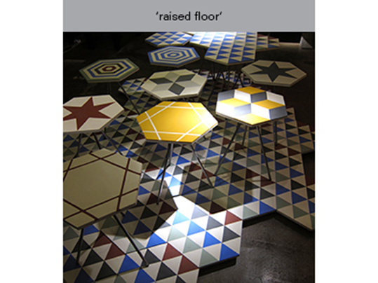 raised floor