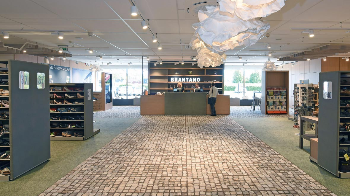 Flotex Carpet - Retail flooring