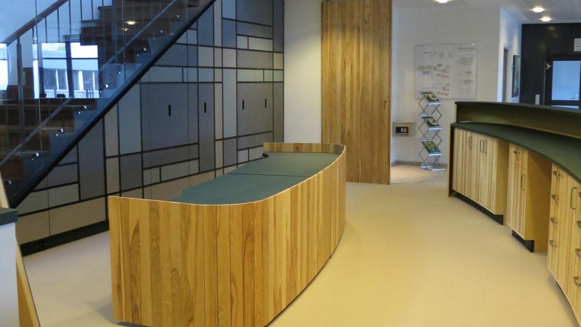 VINGSTED hotel & konferencecenter - Furniture Linoleum + Bulletin Board