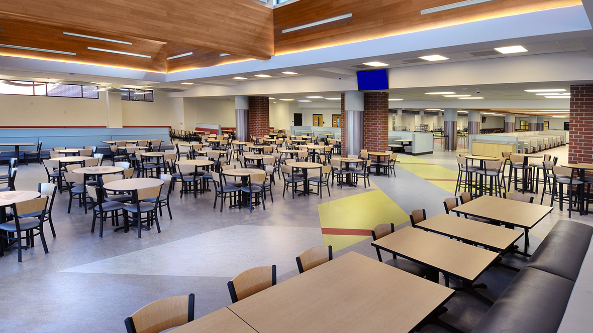 wando high school cafeteria