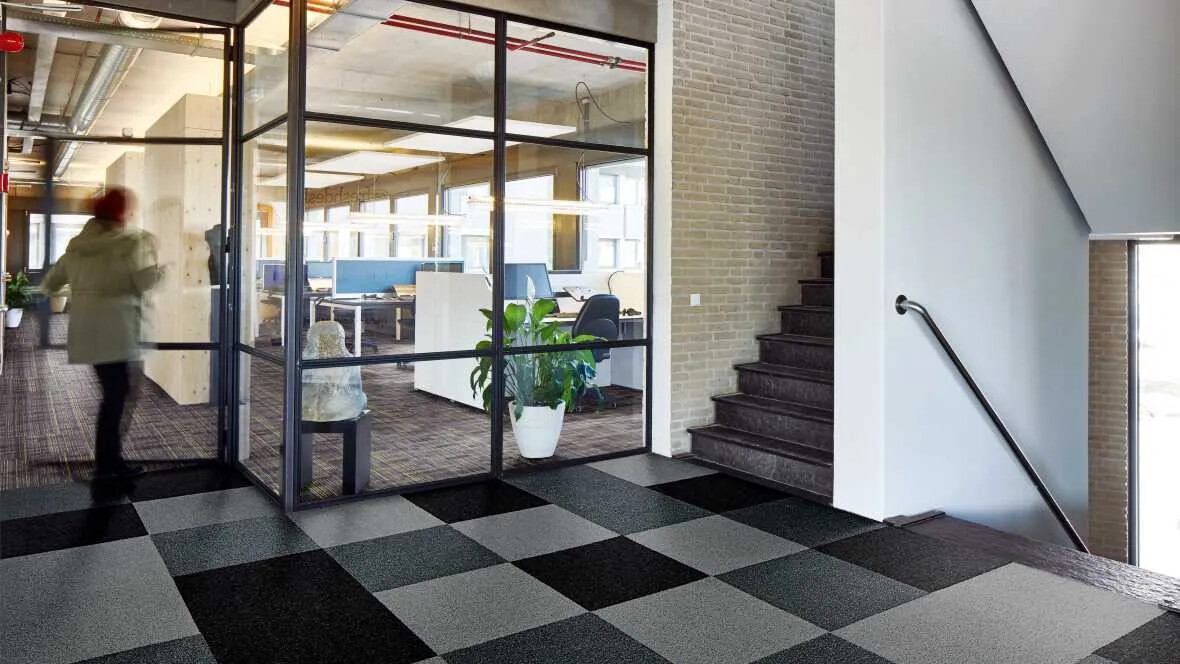 Coral Tiles - Entrance flooring for Commercial Offices