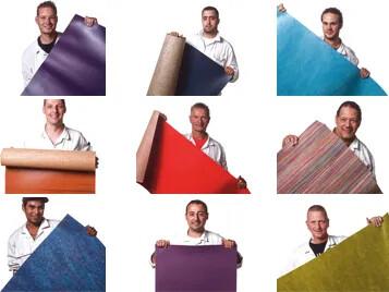 Forbo Flooring-personal med linoleummattor