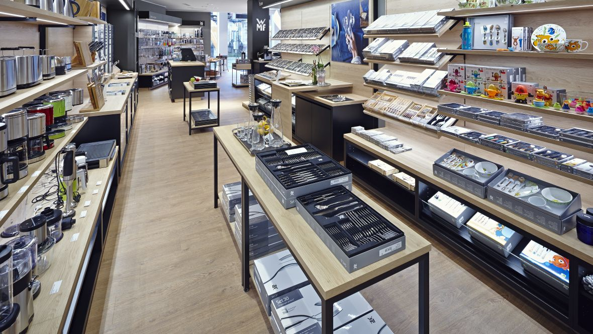 WMF_Münster shop -  luxury vinyl wood planks