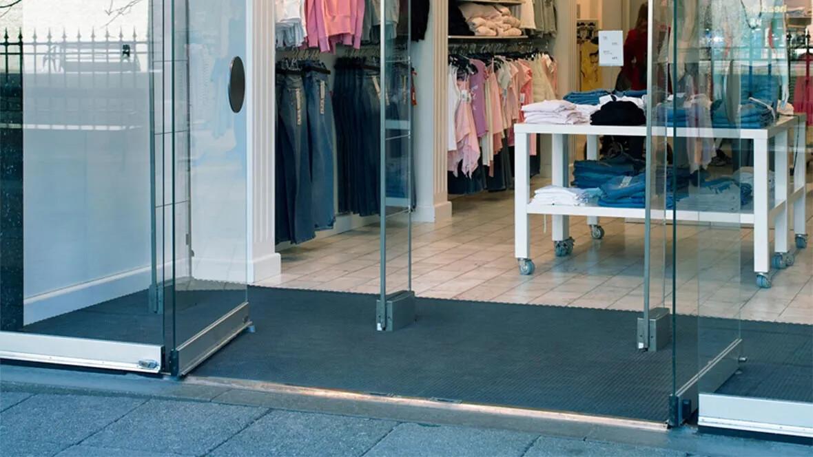 Jaguar Entrance Flooring Retail