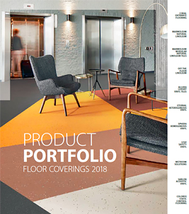 Product portfolio brochure cover 2018