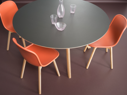 Furniture Linoleum 4155 reference1 table