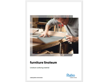 Furniture Linoleum brosjyre