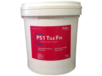 PS1 tile fix flooring adhesive