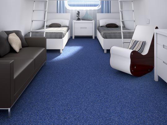 Westbond FR - IMO certified carpet tiles