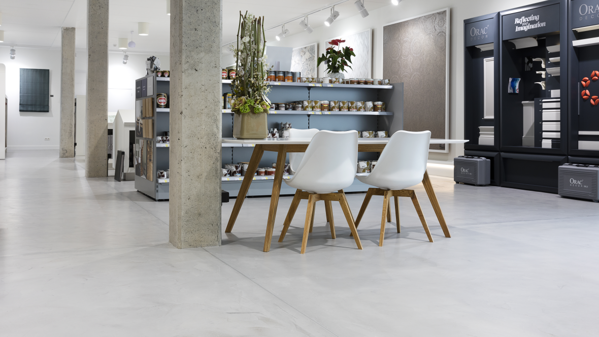 Forbo flooring referenties for Boeckx interieur