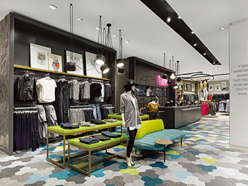Flooring for retail segment